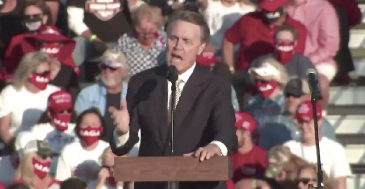GA Sen. David Perdue Just Cancelled Final Debate After He Got Destroyed by Jon Ossoff Last Night https://t.co/yGXGFCO9or https://t.co/KPiV5RxF0N