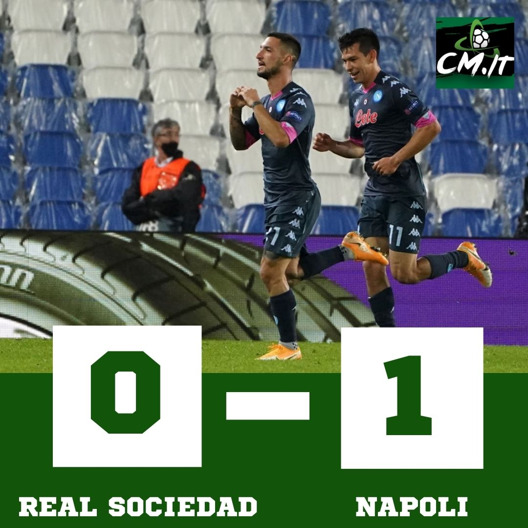 #RealSociedadNapoli