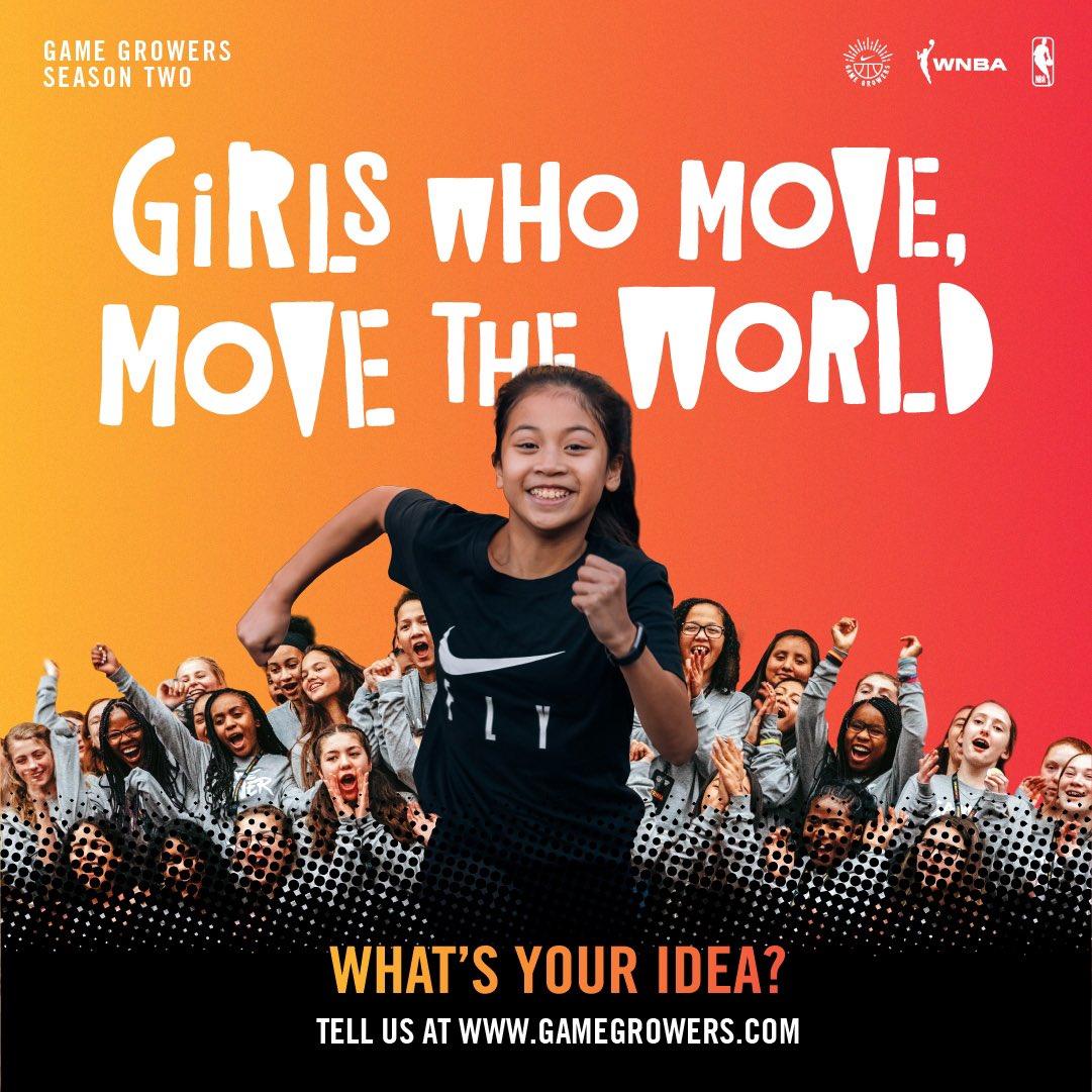 Got an idea to get more girls playing sports? 🤔  We wanna hear it! 💪  Tell us at https://t.co/IDxPWsMMhR https://t.co/o3xYb9kjpq