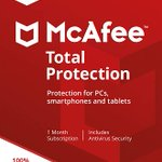 Image for the Tweet beginning: McAfee Total Protection - 3