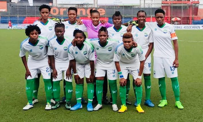Sierra Leone U-20 Female team defeated Earth Angels FC  1-0 in Monrovia in their 2nd friendly match on Thursday. The goal was scored by Wuya Mohai. In the other match,  the Sierra Leone U-17 Boys ( Sierra Stars) beat Discoveries Academy of Monrovia 5-1.  #SaloneTwitter  #Salone https://t.co/jsWKBshDXj