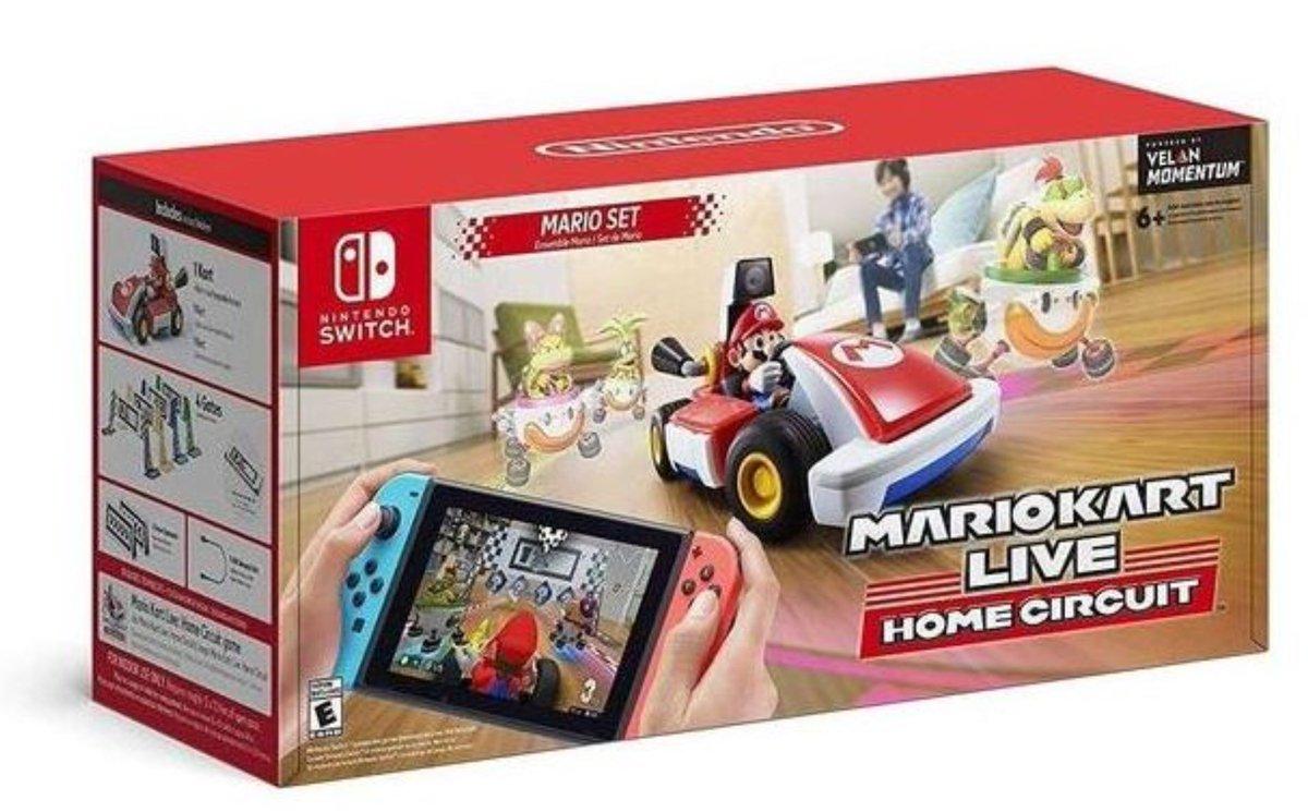 Mario Kart Live: Home Circuit (S) $99.99 is in Stock via Amazon (Prime Eligible). 2