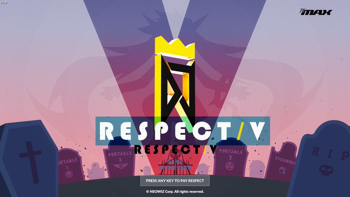 DJMAX RESPECT V is $19.99 on Steam 2  press any key to pay respect