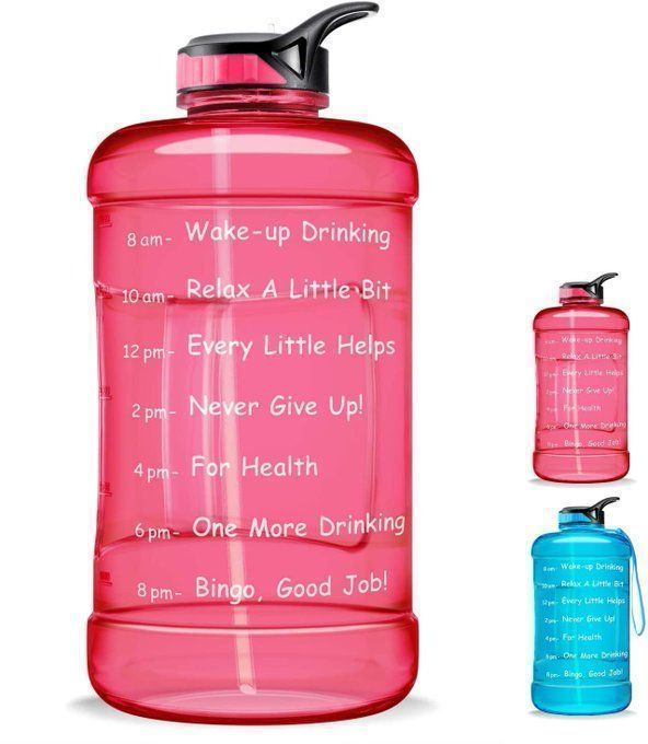 STEAL!  Large 1 Gallon Water Bottle for $9!  Use promo code; YVXJRJCL  *OR coupon on page  2