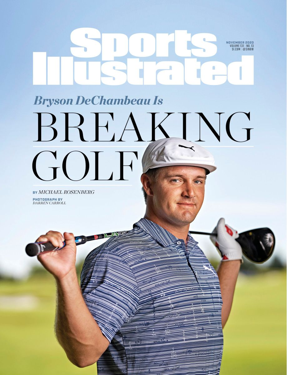 """SI Cover Story: """"Numbers make him feel really good. The more numbers you throw at him, the better.""""  How @b_dechambeau is breaking golf by examining, questioning, reimagining and obsessing over every aspect of the game: https://t.co/s28nzns7PM https://t.co/wspHGoB2jJ"""