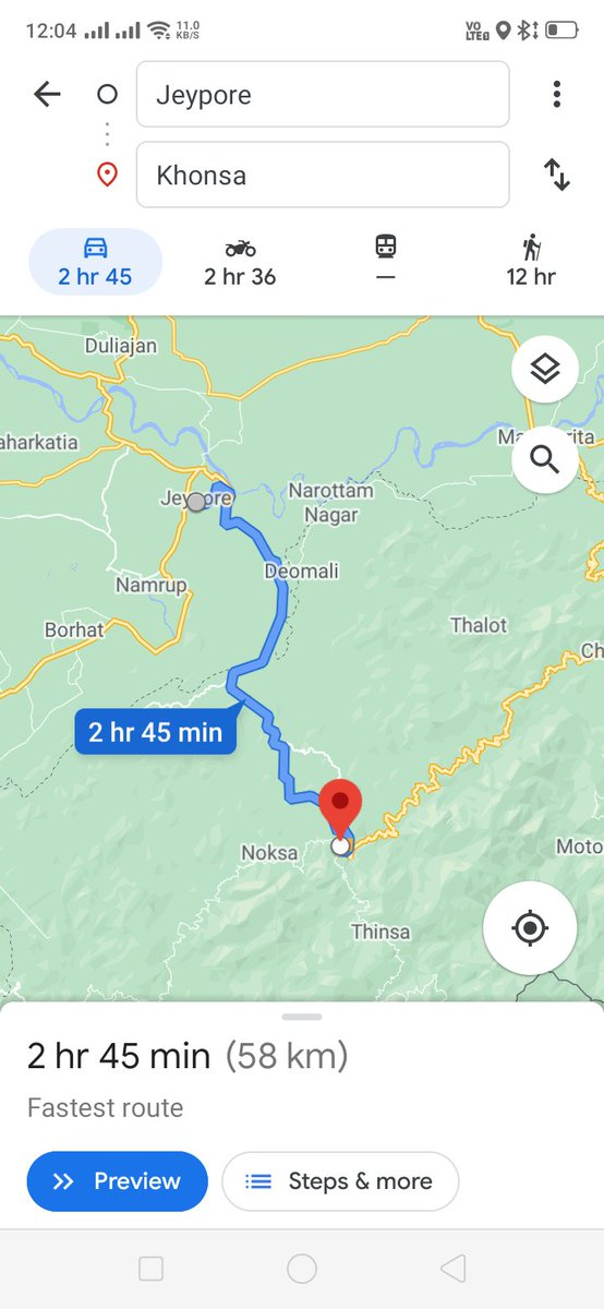 @nitin_gadkari @narendramodi @ArunachalCMO @CMOfficeAssam Extremely Bad Road Condition in Jeypore (Assam) to Khonsa ( Arunachal Pradesh) despite being very essential route for goods transportation. It's a very important issue for the livelihood of the local natives. https://t.co/kxQXCLdLSY