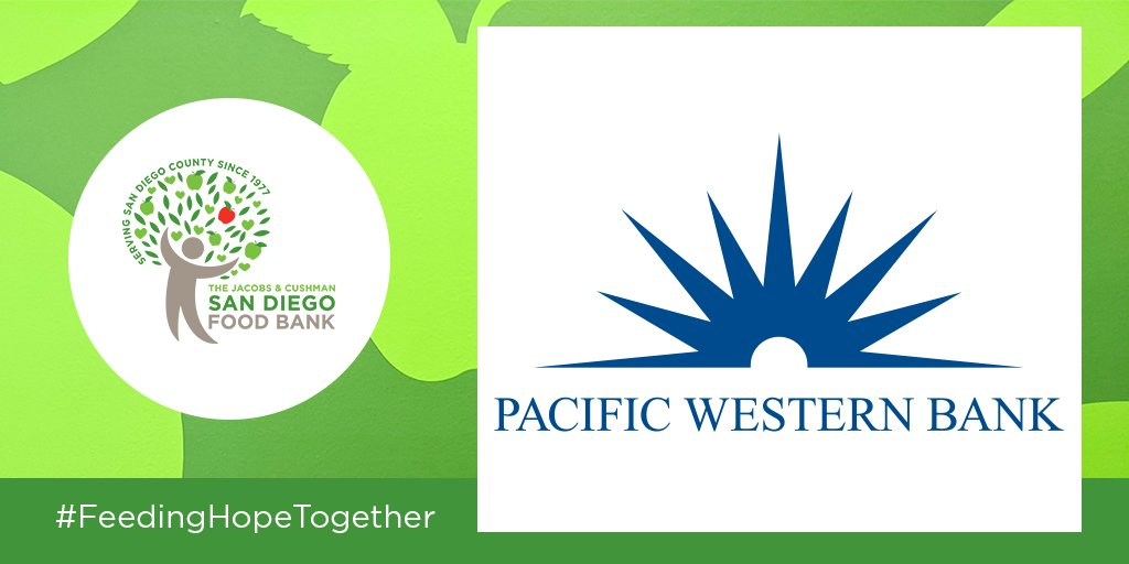 THANK YOU Pacific Western Bank for donating $10,000 to our COVID-19 Hunger-Relief Response Programs! This donation will provide 50,000 meals to families facing food insecurity! @BankPacWest #ThankfulThursday #FeedingHopeTogether
