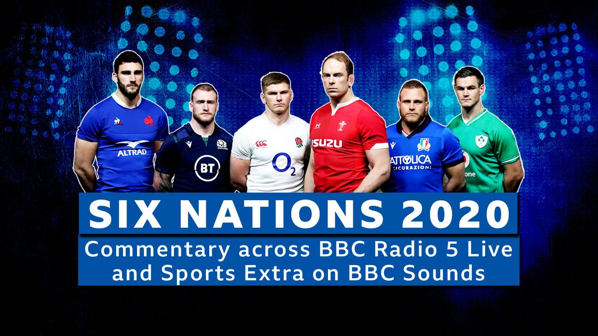 It's back 😍🏉  🔜 @Sonjamclaughlan, @ugomonye, @ChrisAshton1 and @jamieheaslip preview the weekend's #SixNations matches including:  🇮🇹 Italy v England 🏴 🇫🇷 France v Ireland 🇮🇪 🏴 Wales v Scotland 🏴  Join us at 19.00 GMT on @BBCSounds  📲📻: https://t.co/NI1sjtGRxI #bbcrugby https://t.co/9cgEybgmei