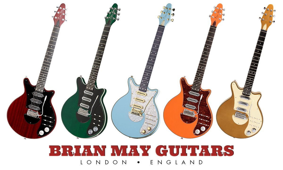 RIGHT HERE, RIGHT NOW... The classic Antique Cherry @BrianMayGuitars Special is BACK IN STOCK now alongside selected LE Series flavors, all available to ship worldwide complete with an exclusive FREE BMG GIFT PACK (worth over £40)... Visit  + TREAT YO'SELF!
