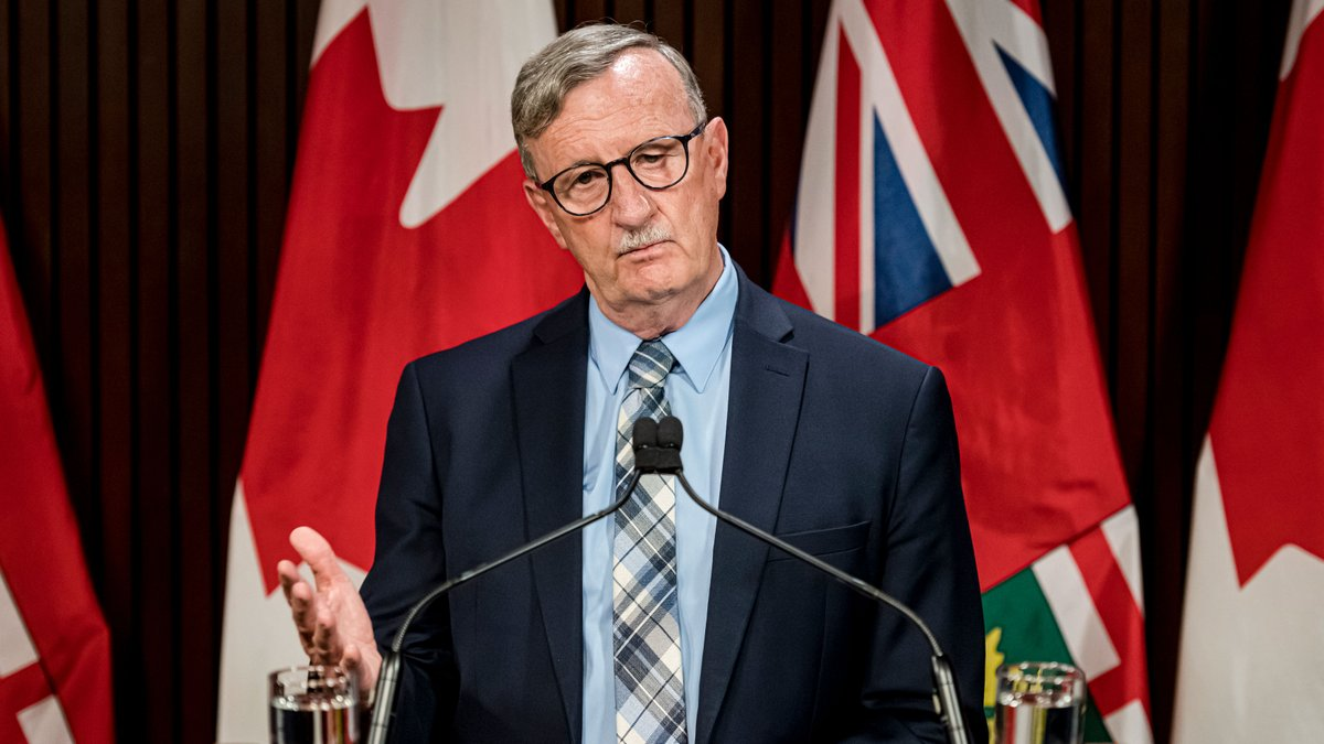 WATCH LIVE: Ontario's Chief Medical Officer Dr. David Williams provides an update on COVID-19 cases in the province: https://t.co/vtBK7mmLRk https://t.co/KMVTue8znH