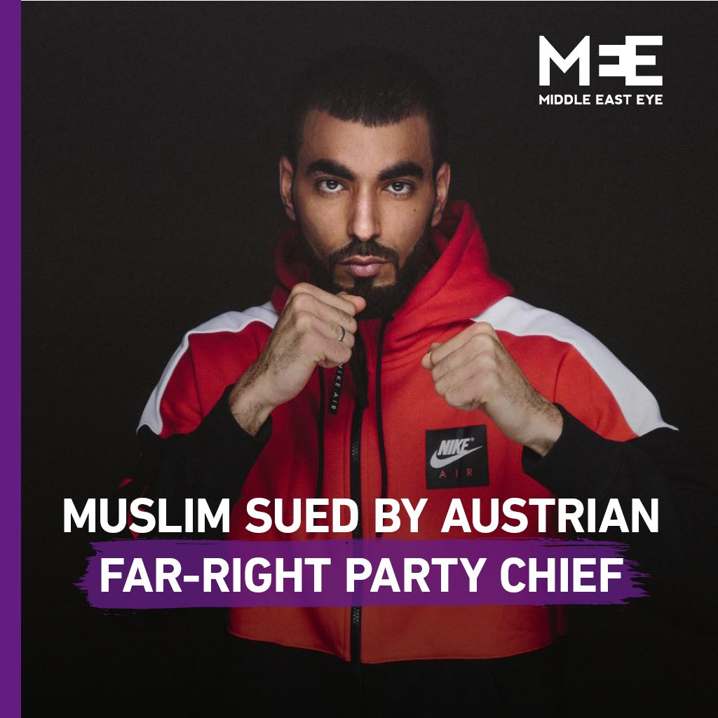 Austrian-Muslim sued for criticising far-right party leader over his anti-Islam remarks