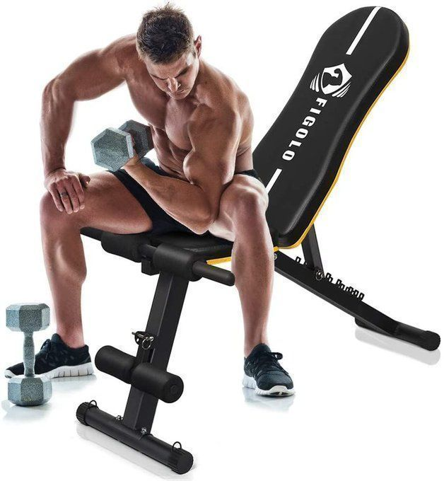 Adjustable Workout Bench for $72.99!