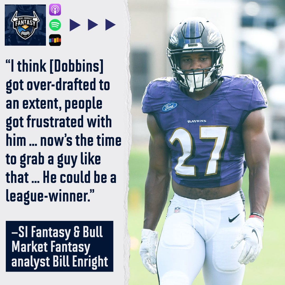 On the latest @BullMktFantasy Podcast, @TheFantasyExec, @Frankie_Fantasy and @BillEnright highlight buy-low and sell-high options ahead of Week 8, as well as take a closer look into the matchups: https://t.co/Umd6KlNnsp https://t.co/bmhE0FwOkG
