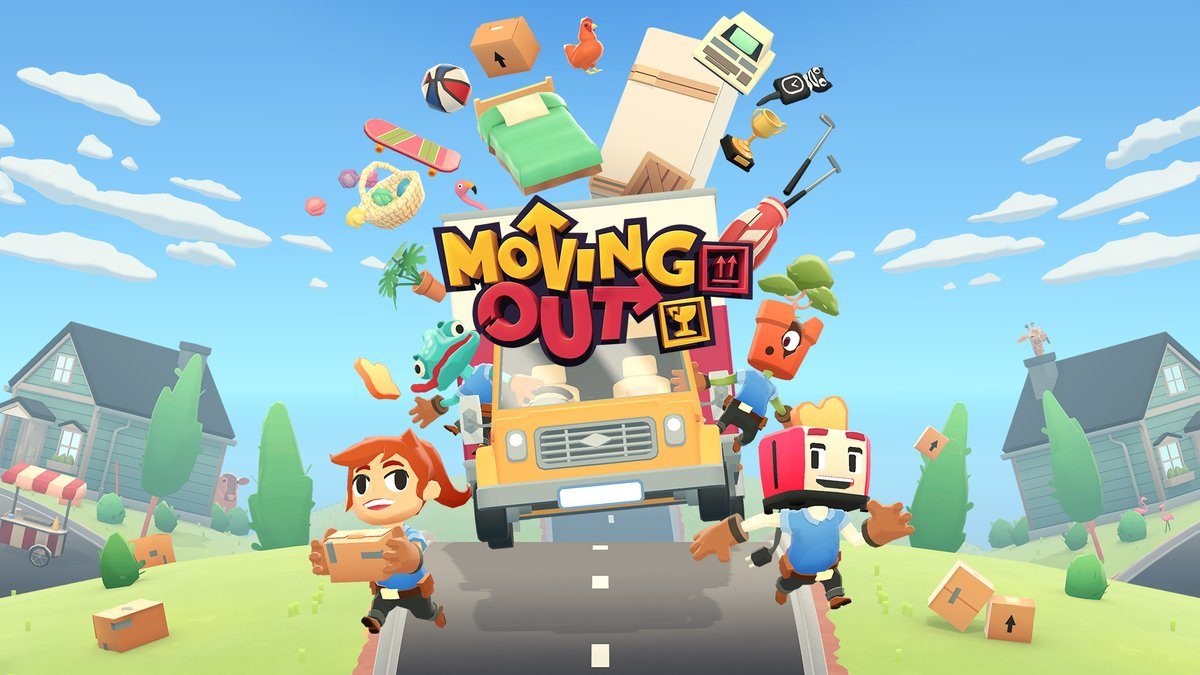 Moving Out is on sale for $14.99 in the #NintendoSwitch eShop.