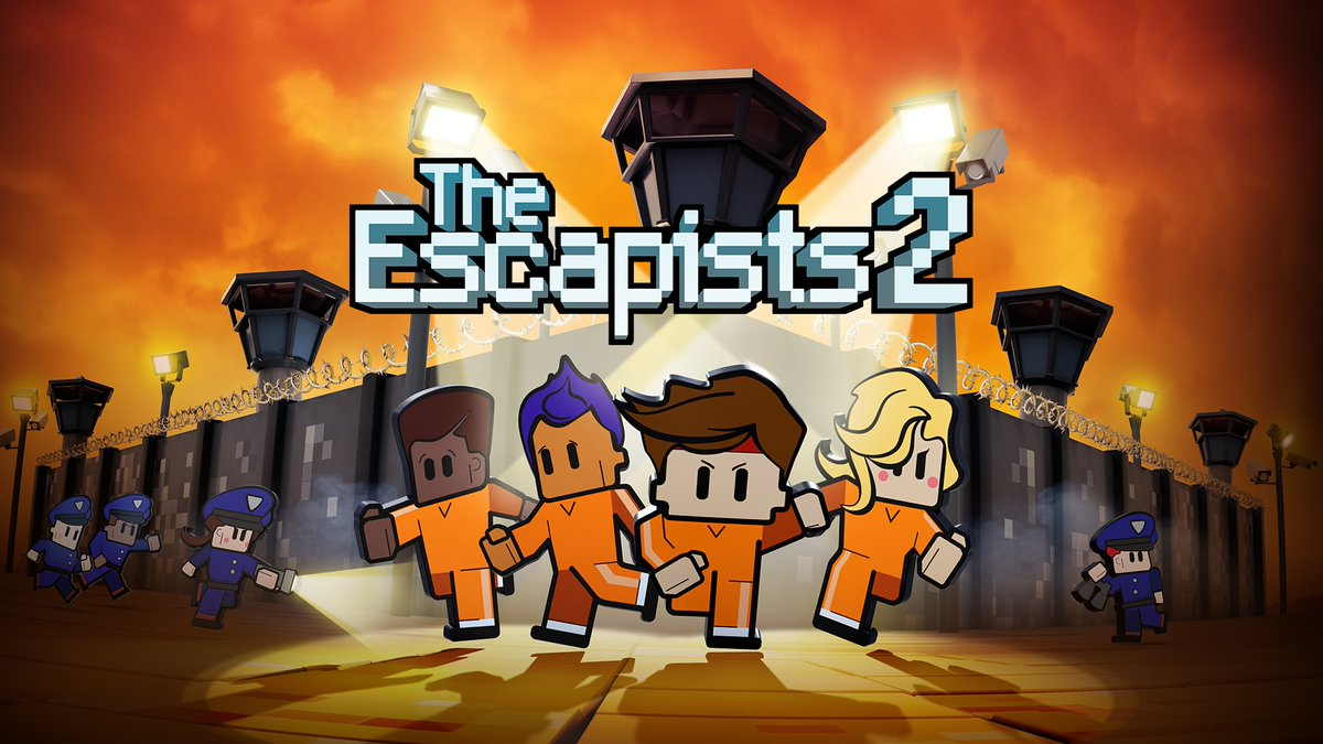 The Escapists 2 is on sale for $4.99 in the #NintendoSwitch eShop.