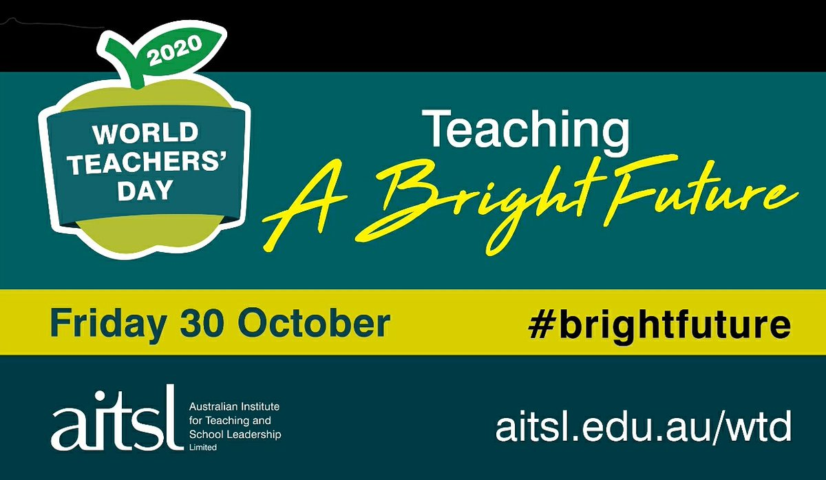 Happy Teachers Day!  Wishing our amazing teachers at St Monica's College Happy Teachers Day.  Your value can be measured in the fact that teaching is a profession that creates all others. #brightfuture @CEMelbourne https://t.co/wJ7sShbzwm