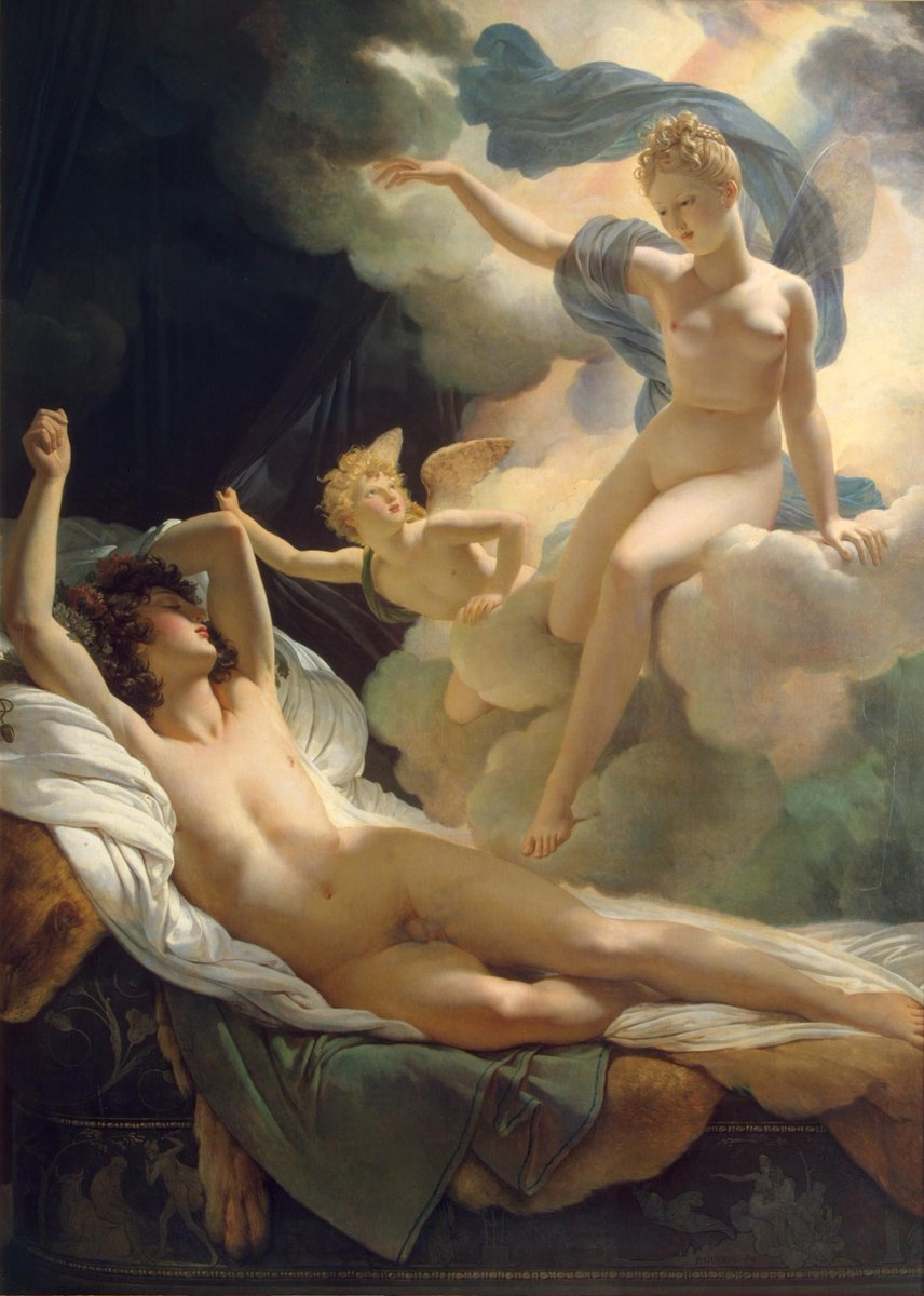 """""""Morpheus and Iris(1811)"""" Hermitage Museum Pierre-Narcisse, baron Guérin (13 March 1774 – 6 July 1833) was a French painter born in Paris."""
