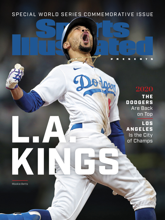 Sports Illustrated celebrates the Dodgers' seventh World Series title in a special championship commemorative issue.  Get yours here ➡️ https://t.co/dSzvHK3w2X https://t.co/VOd6IXFMCF
