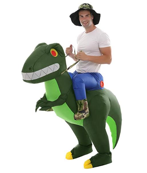 Dino Costume for $14.99!  Use promo code; 4XWOTT9F