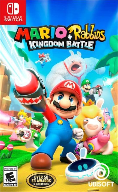 Mario + Rabbids Kingdom Battle for #NintendoSwitch is on sale for $14.99 at Best Buy.