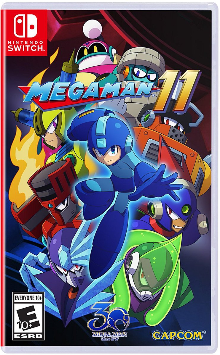 Mega Man 11 for #NintendoSwitch is on sale for $14.99 at GameStop.