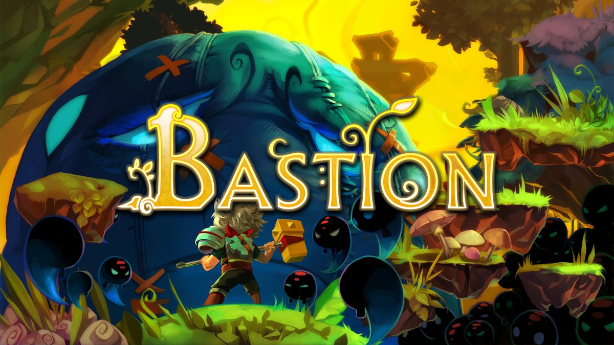 Bastion is on sale for $2.99 in the #NintendoSwitch eShop.
