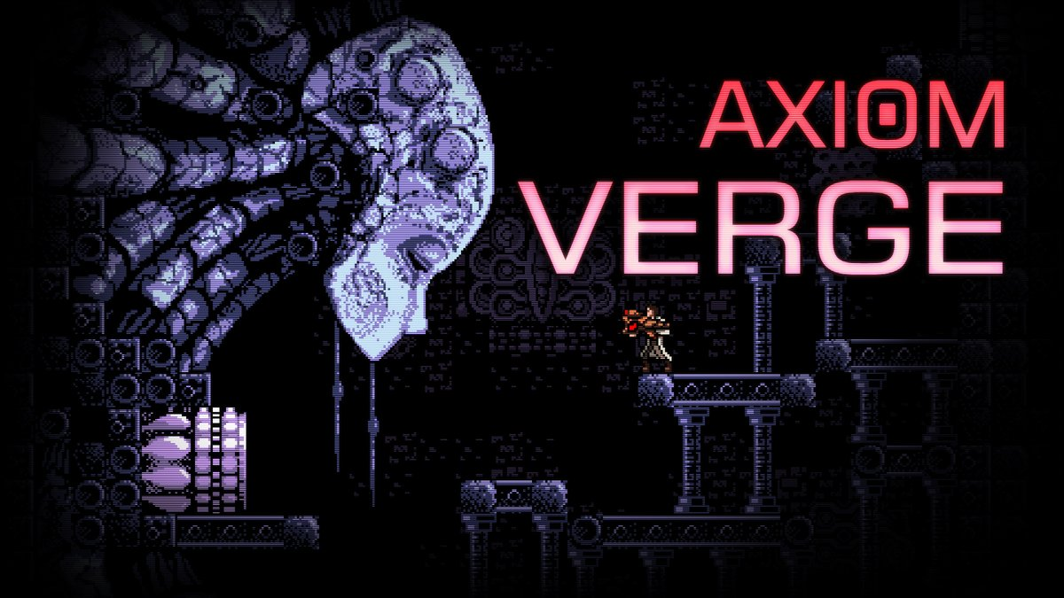 Axiom Verge is on sale for $9.99 in the #NintendoSwitch eShop.