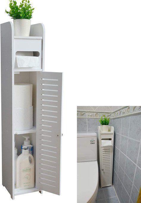 Bathroom Storage Corner Floor Cabinet, $25.99!  *coupon on page