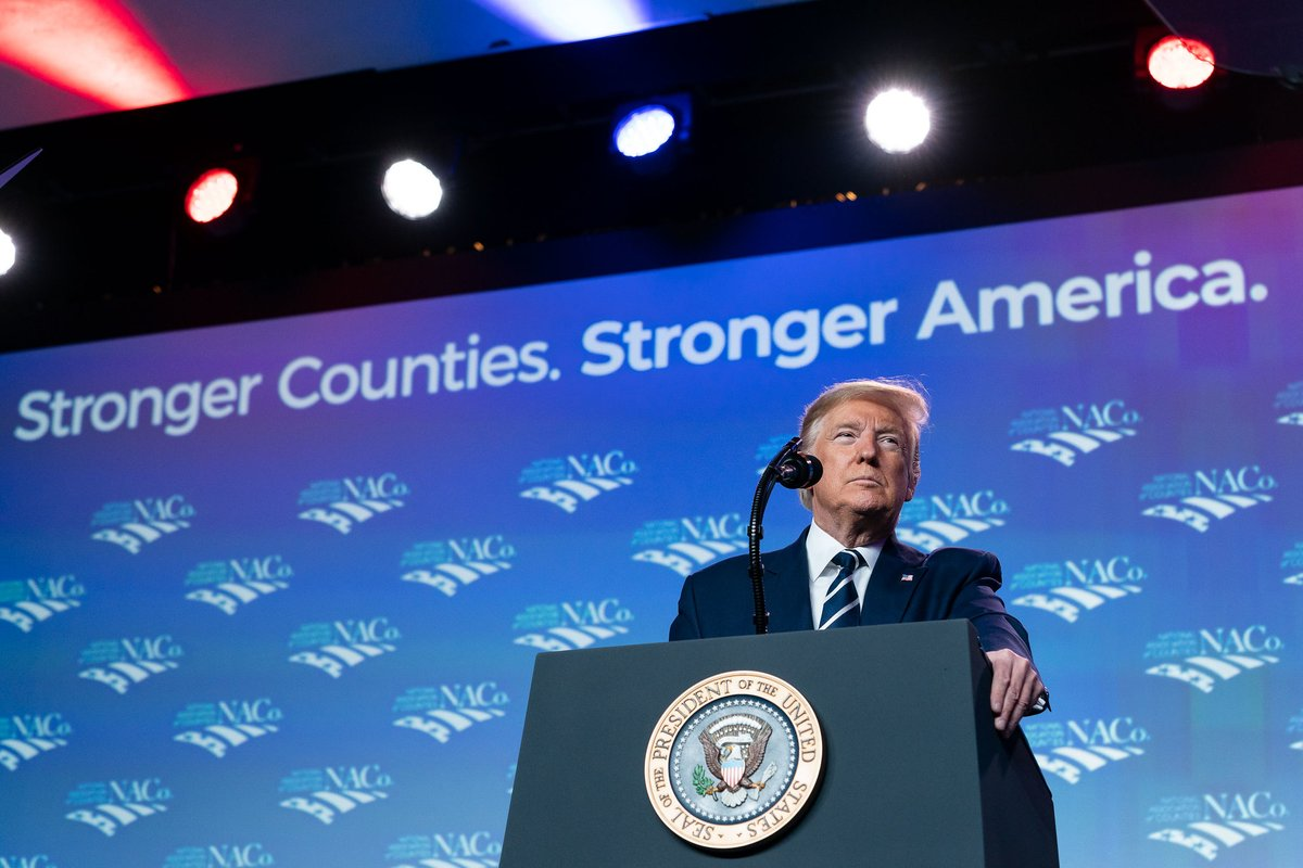 Since 2017, President @realDonaldTrump and the entire Administration have forged unprecedented partnerships with State, Local, and Tribal Officials from across the country to better address shared challenges and build upon shared opportunities.  Just a few examples -