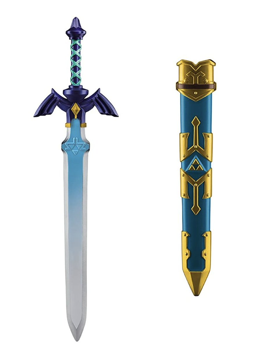 The Legend of Zelda: Link Toy Sword is available for $17.49 on Amazon. (Affiliate link.)