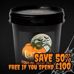 TORQ HALLOWEEN SALE 🎃 50% OFF our exclusive TORQ or Treat Tub (FREE if you spend over £100) this Halloween and many other black & orange offers! https://t.co/IhOzXiDeIr FREE delivery on all orders to most UK destinations, however small. Sale ends midnight Sunday 1st November.