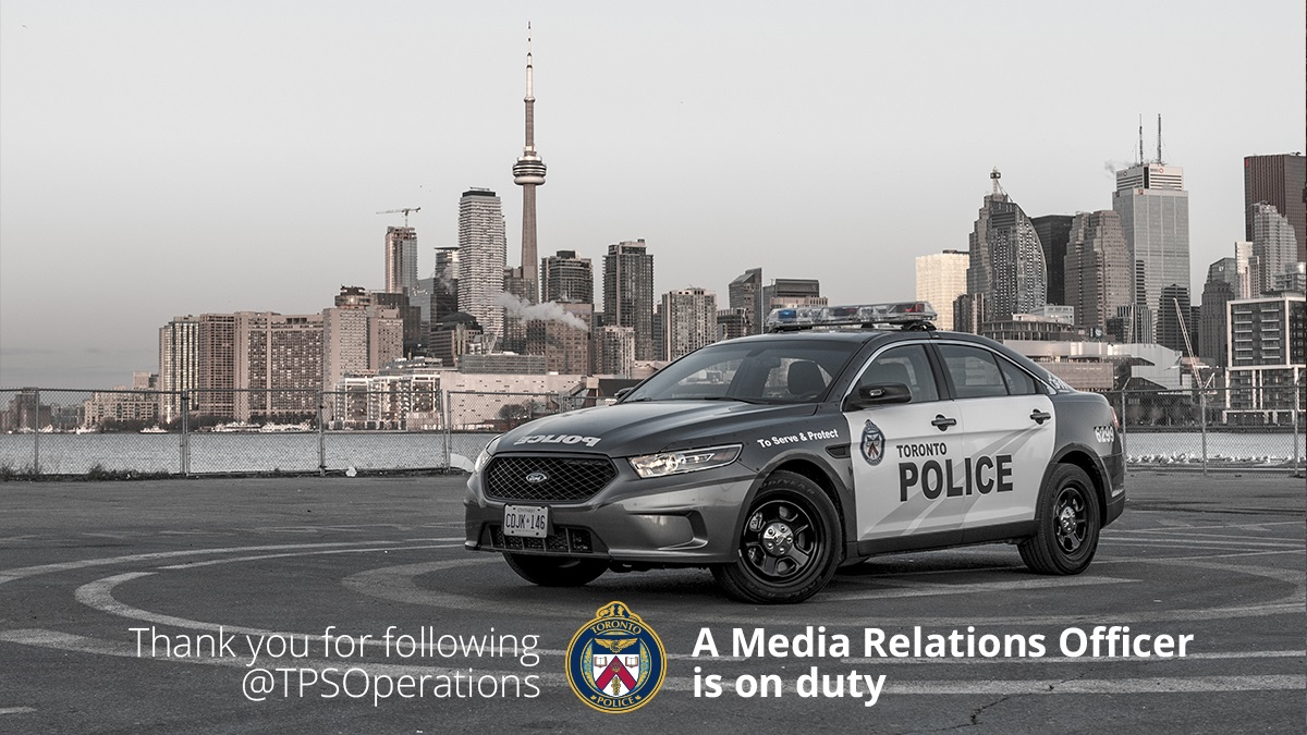 Good afternoon Toronto, @LBrabant_TPS is on duty. I will be keeping you up to date on whats going on in the City. ^lb