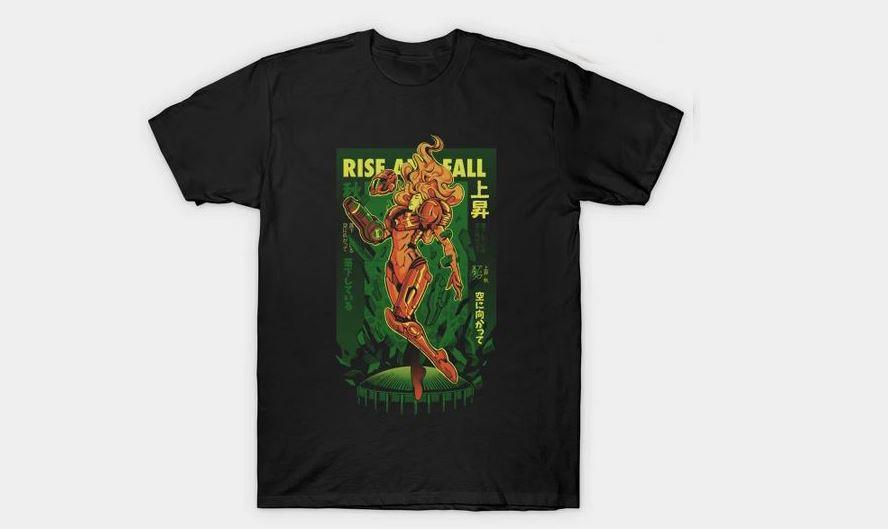 Samus' Journey T-Shirt $13 via TeePublic.
