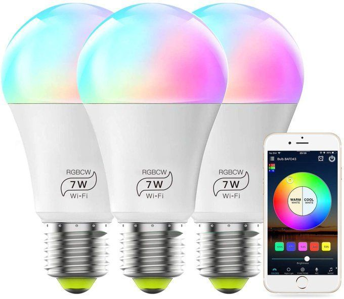 3 pack of Smart Wifi Bulbs for $15.59!  Use promo code; 40MLBULB