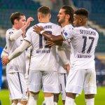 Image for the Tweet beginning: 🔵⚪️ Hoffenheim = two games,