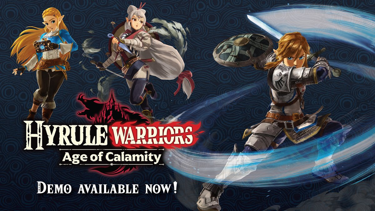Nintendo Of America On Twitter Icymi A Demo Of Hyrulewarriors Age Of Calamity Is Available Now Play All Of Chapter 1 As Link Zelda And Impa And Even Carry Over Your Save