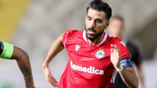 Jordi Gómez, en un partido con el Omonia Nicosia.