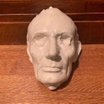 Image for the Tweet beginning: This life mask of 16th
