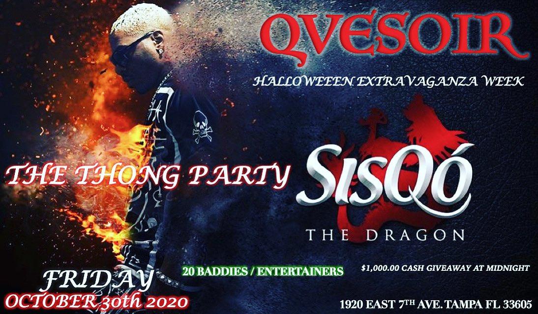 Tampa Bay!! Join me at The Thong PartyHalloween Extravaganza this Friday, Oct. 30th @ Club Qvesoir 🔥
