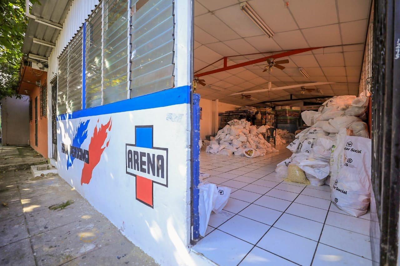 Alcalde de Ilopango niega robo de paquetes con alimentos
