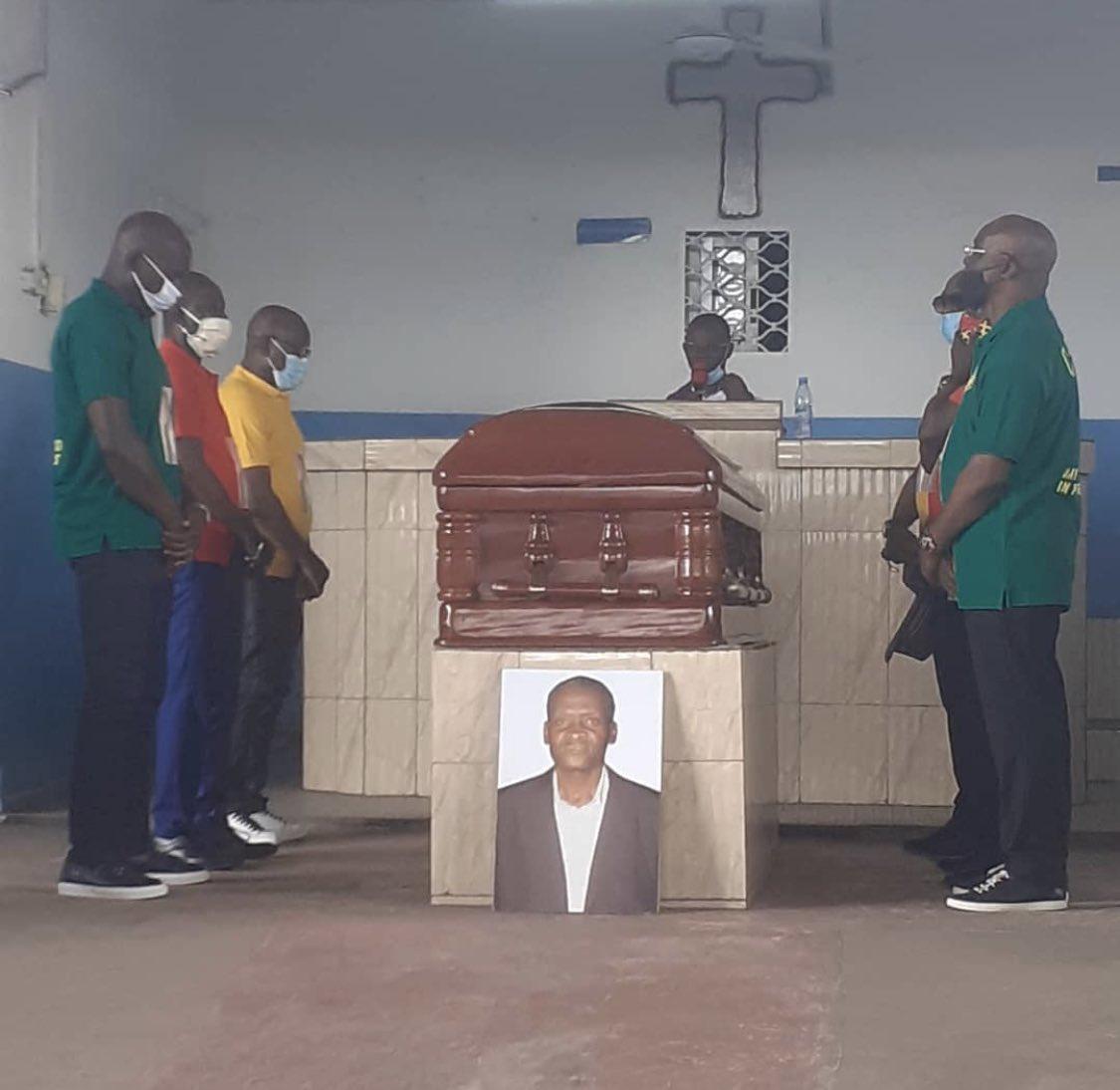 Rest In Peace Mbom Ephrem 🦅🙏🇨🇲  @FecafootOfficie