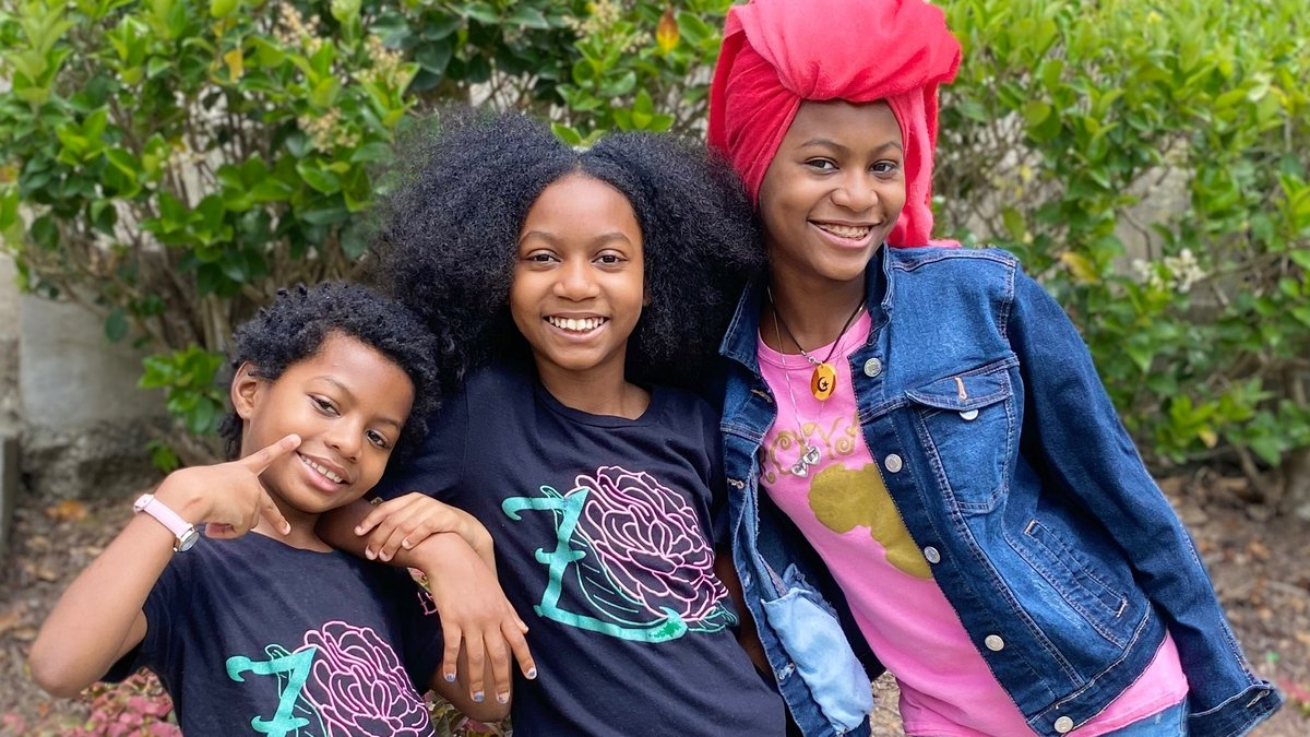 Congratulations are in order. 🥳 For #BlackEntrepreneursDay, we're awarding Ndola Highgood and her daughters a $25K NAACP Powershift Grant to help them grow their beauty and wellness business, @jascrafted. 🎉
