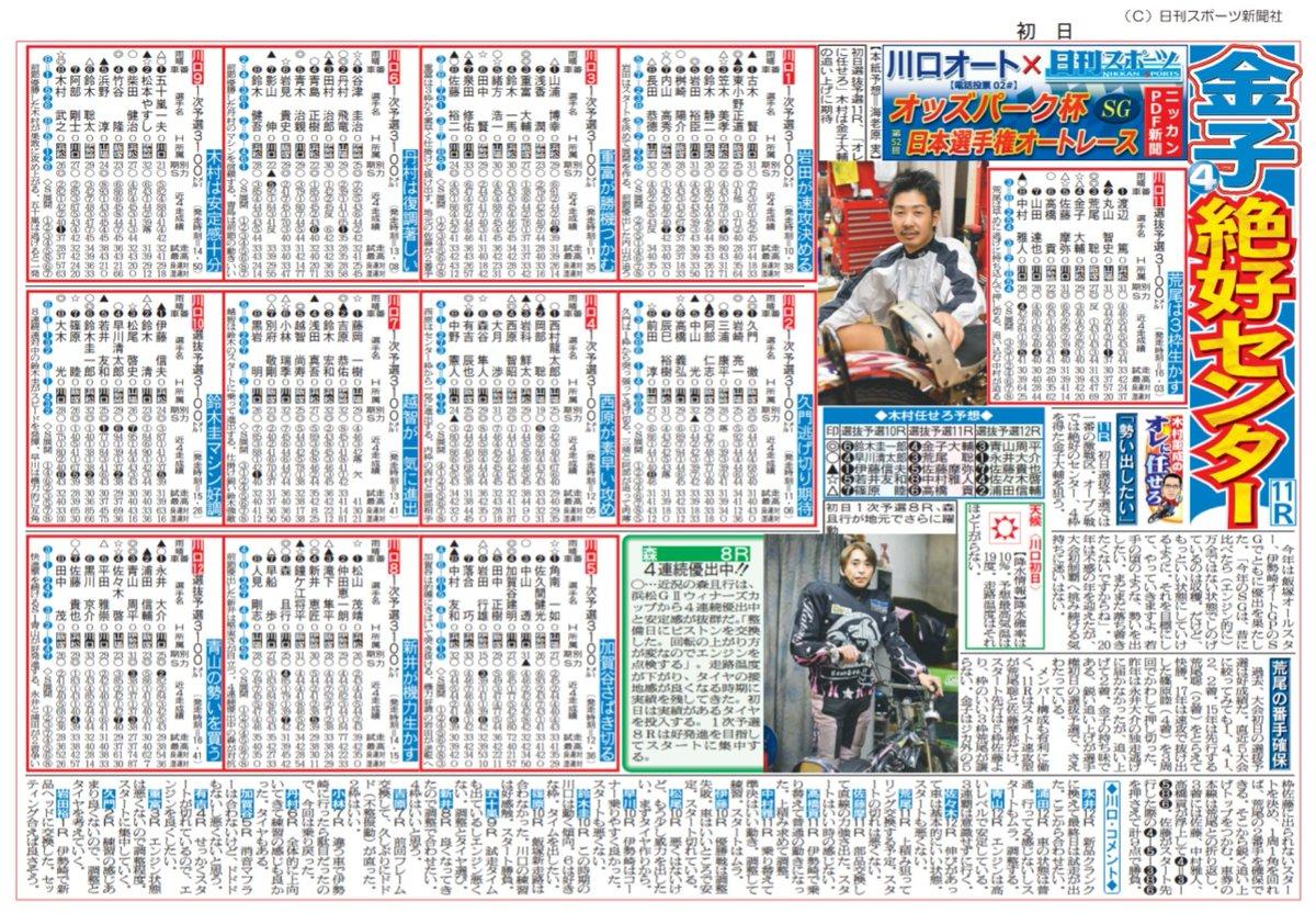 予想 レース 日刊 オート