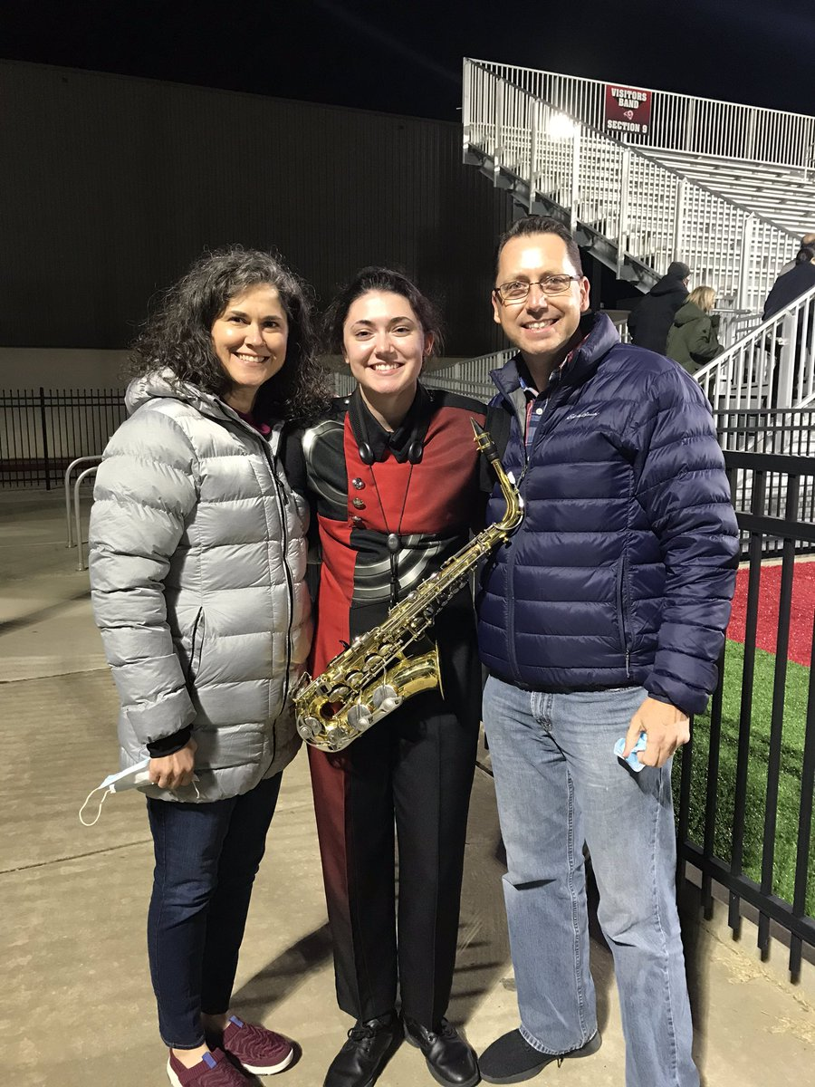 Katie's senior night with Owasso band. So proud of your hard work Katie!! #Classof2021 #owassobands