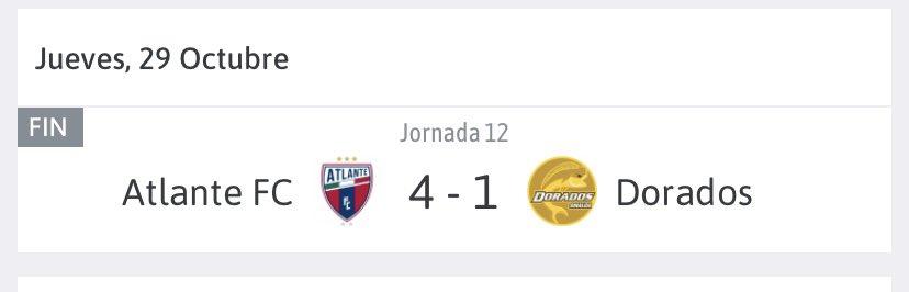 Resultado del partido de hoy, Fecha 12, Liga BBVA Expansion Mx , Torneo Guard1anes 2020. #DeportePicanteOficial #LigaBBVAExpansionMx #Guard1anes2020 https://t.co/ZJ4oYlvHVp