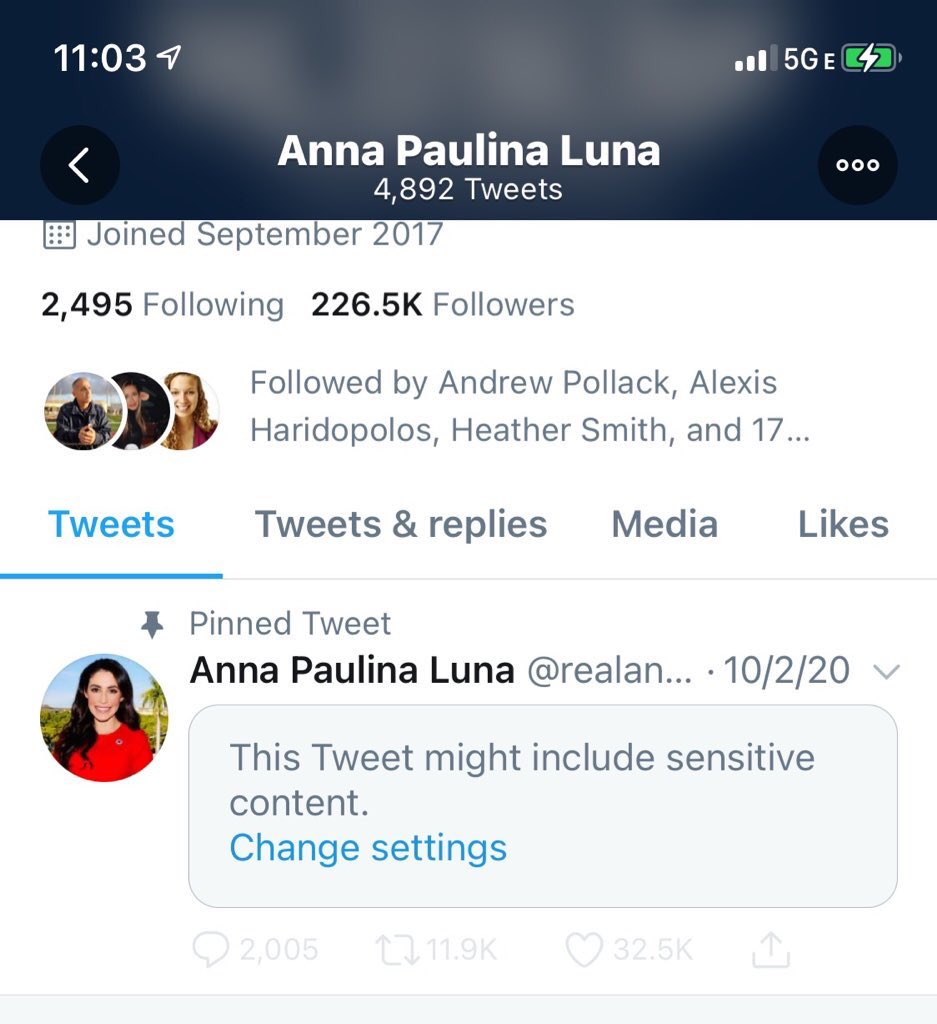 """So @realDonaldTrump tweeted my campaign video & twitter has now marked it as """"sensitive content."""" This is wrong & blatant censorship. https://t.co/Shs78vY0MF"""