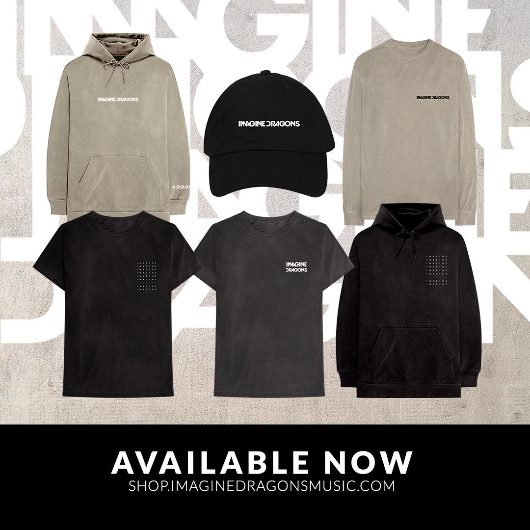 new merch line - available NOW