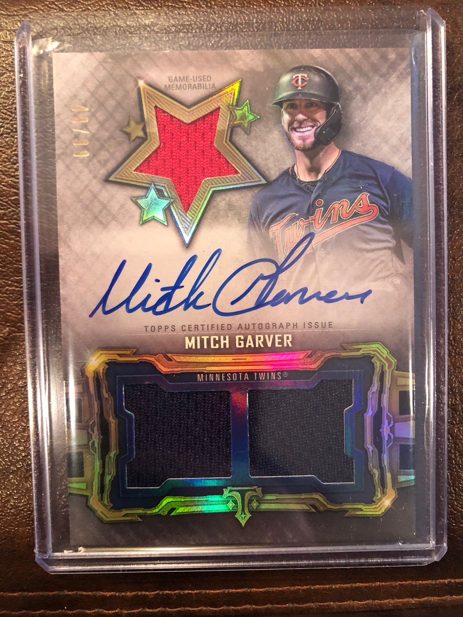 Free agency officially starts Sunday. Here's to hoping the #MNTwins throw plenty of money around!  Here's a 2020 @Topps Triple Threads Mitch Garver auto to giveaway to celebrate.  RT to enter, must be following to win.