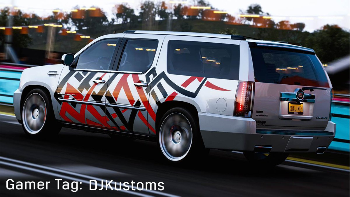 We asked for epic Escalade shots and the #CadillacGamingClub really delivered. Check out our favorite photos from the club this month! #NeverStopArriving #ForzaHorizon4