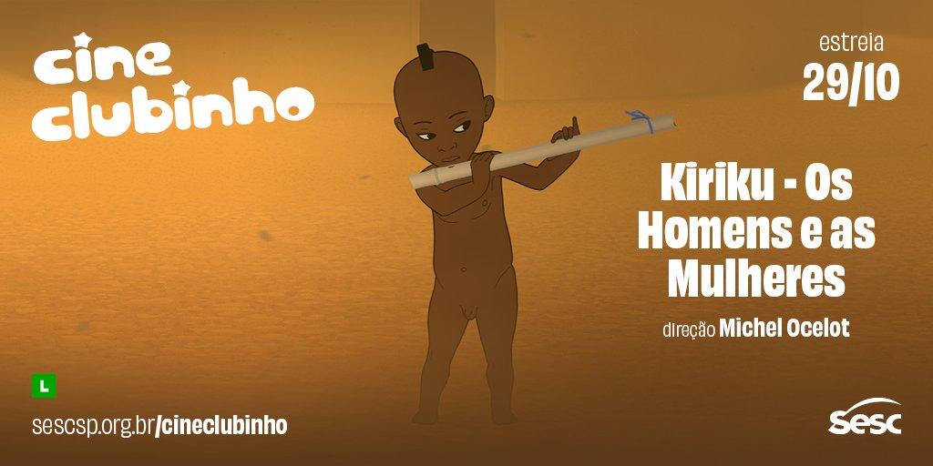"""Para as crianças, o Cine Clubinho está recheado de novidades! O brasileiro """"O menino e o mundo"""", os franceses """"Kiriku - os homens e as mulheres"""" e """"O menino da Floresta"""", além de duas sessões de curtas animados, já estão disponíveis. Pra assistir, acesse: https://t.co/Ruq3MbNxOo https://t.co/RqivRRkQvE"""